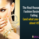 The real reason your fashion business is failing.