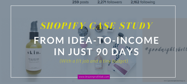 From Idea To Income: The Goodnight Darling Shopify Case Study