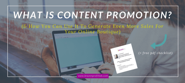 What Is Content Promotion: A Simple Guide For Smart Online Store Owners