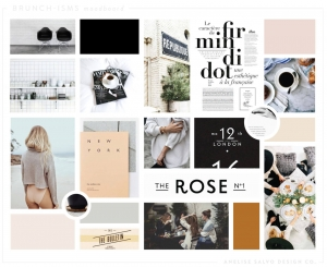 Online Boutique moodboard