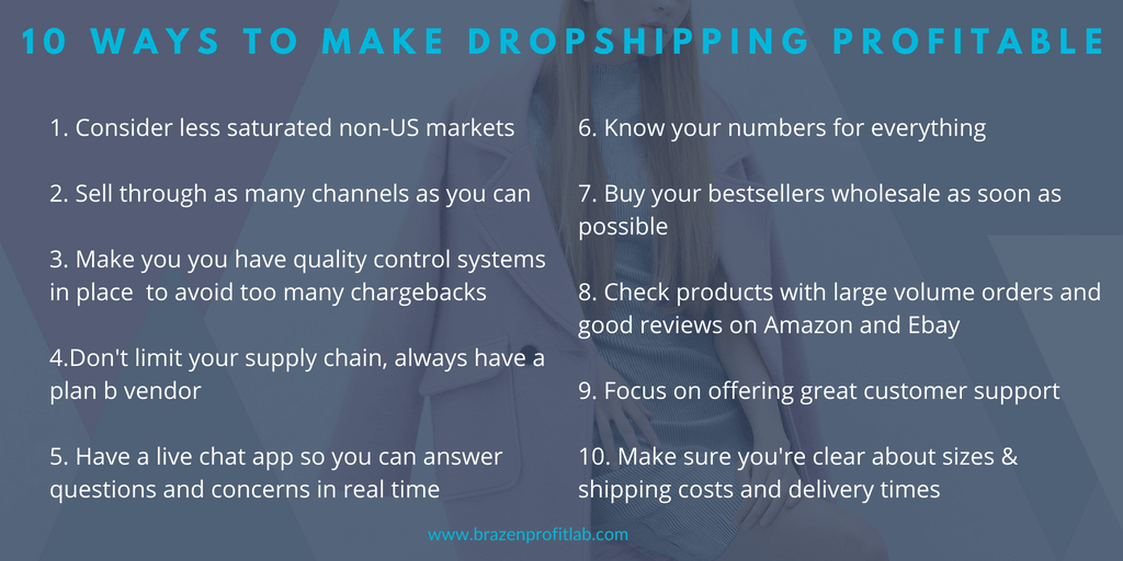dropshipping with shopify