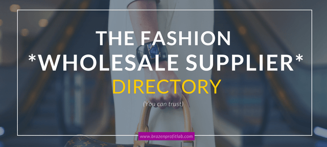 Fashion Wholesale Supplier & Inventory Buying Guide For Beginners