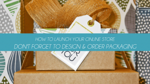 how to launch an online store