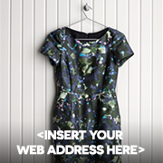 Put your web address in the product image and the description